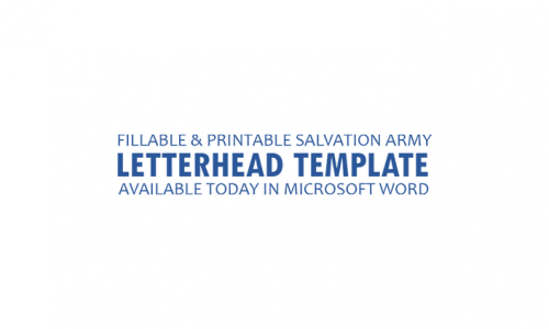 Letterhead-Word-750-2-500x300 Salvation Army Letterhead Templates on find free, free construction, professional business, for word free, free print, cleaning company, monogram personal,